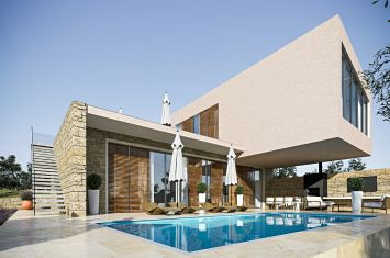 ULTRAMODERN STONE VILLA WITH POOL AND PANORAMIC SEA VIEW!