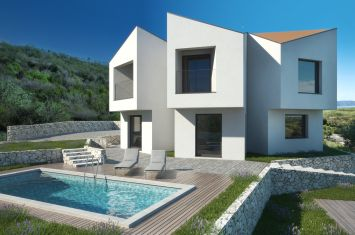 MODERN VILLA WITH POOL AND SEA VIEW, IN QUIET LOCATION!