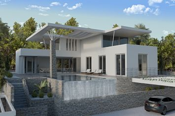 ULTRAMODERN LUXURIOUS VILLA WITH POOL AND PANORAMIC SEA VIEW!