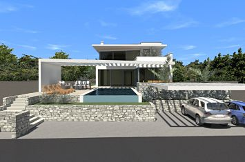 EXCLUSIVE URBAN VILLA WITH POOL AND SEA VIEW!
