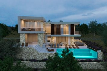 DESIGNER VILLA WITH POOL AND AND PANORAMIC SEA VIEW!