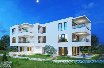 ATTRACTIVE, EXCLUSIVE NEW APARTMENT WITH GARDEN, 300 M FROM THE BEACH!