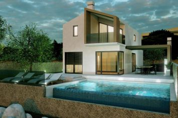 EXCLUSIVE URBAN VILLA WITH POOL AND PANORAMIC VIEW OF THE SEA AND THE OLD TOWN!