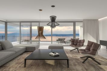 ULTRAMODERN LUXURIOUS APARTMENT WITH PANORAMIC SEA VIEW, IN THE FIRST ROW BY THE BEACH!