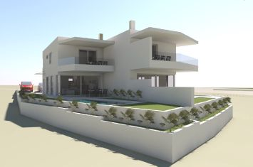 BRAND NEW EXCLUSIVE SEMI-DETACHED HOUSE WITH POOL AND SEA VIEW, IN QUIET LOCATION!