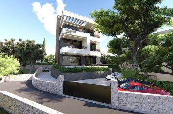 EXCLUSIVE GROUND FLOOR APARTMENT IN NEW URBAN VILLA, WITH PANORAMIC SEA VIEW!
