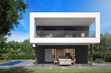 NEW URBAN VILLA WITH POOL AND PANORAMIC SEA VIEW, IN QUIET LOCATION!