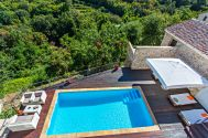 Old stone houses - Dobrinj - OLD STONE VILLA WITH POOL AND SEA VIEW!