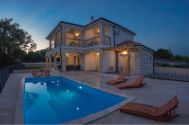 новые каменные дома - Город Krk - NEW STONE VILLA WITH POOL AND PANORAMIC SEA VIEW!