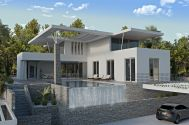 Maisons - Ville de Krk - ULTRAMODERN LUXURIOUS VILLA WITH POOL AND PANORAMIC SEA VIEW!