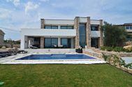 New stone houses - Uvala Soline - NEW STONE VILLA WITH POOL AND PANORAMIC SEA VIEW!