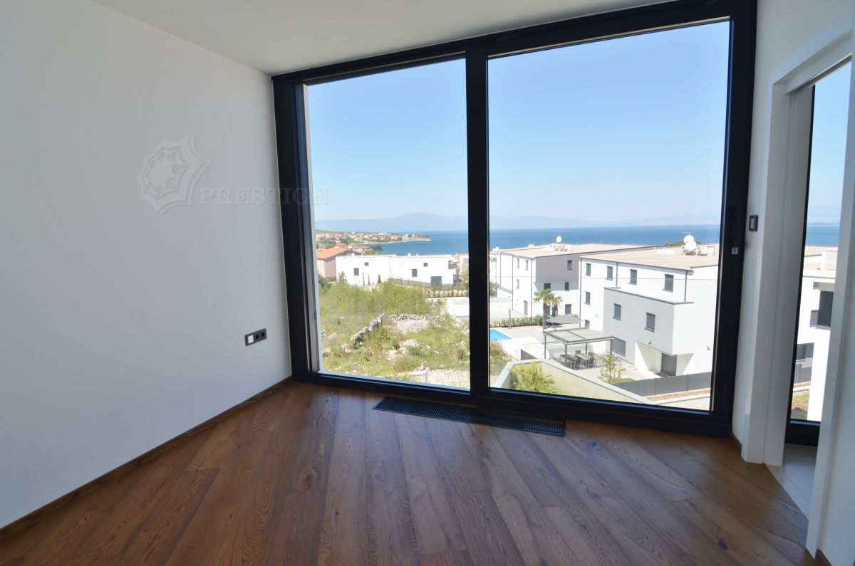 Maisons - Malinska - EXCLUSIVE VILLA WITH POOL AND PANORAMIC SEA VIEW, 200 M FROM THE BEACH!