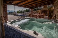 новые каменные дома - Город Krk - NEW STONE HOUSE WITH POOL AND PANORAMIC SEA VIEW!