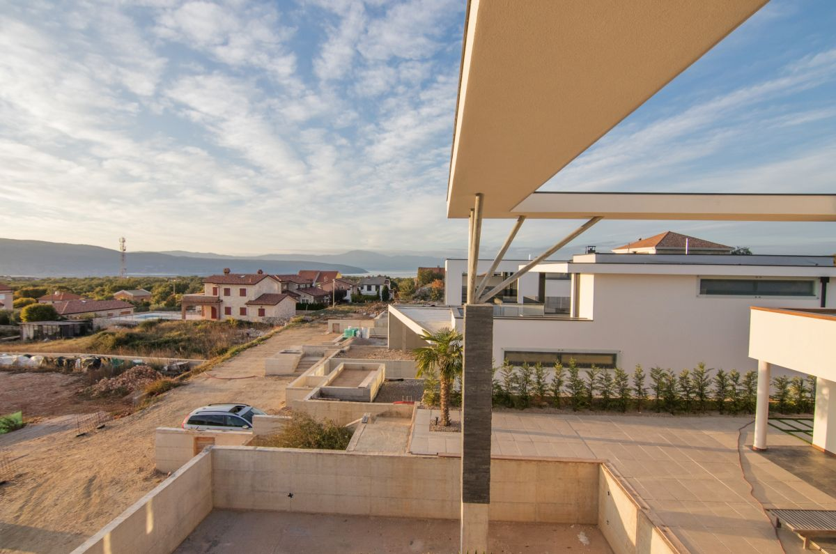 Házak - Város Krk - ULTRAMODERN LUXURIOUS VILLA WITH POOL AND PANORAMIC SEA VIEW!