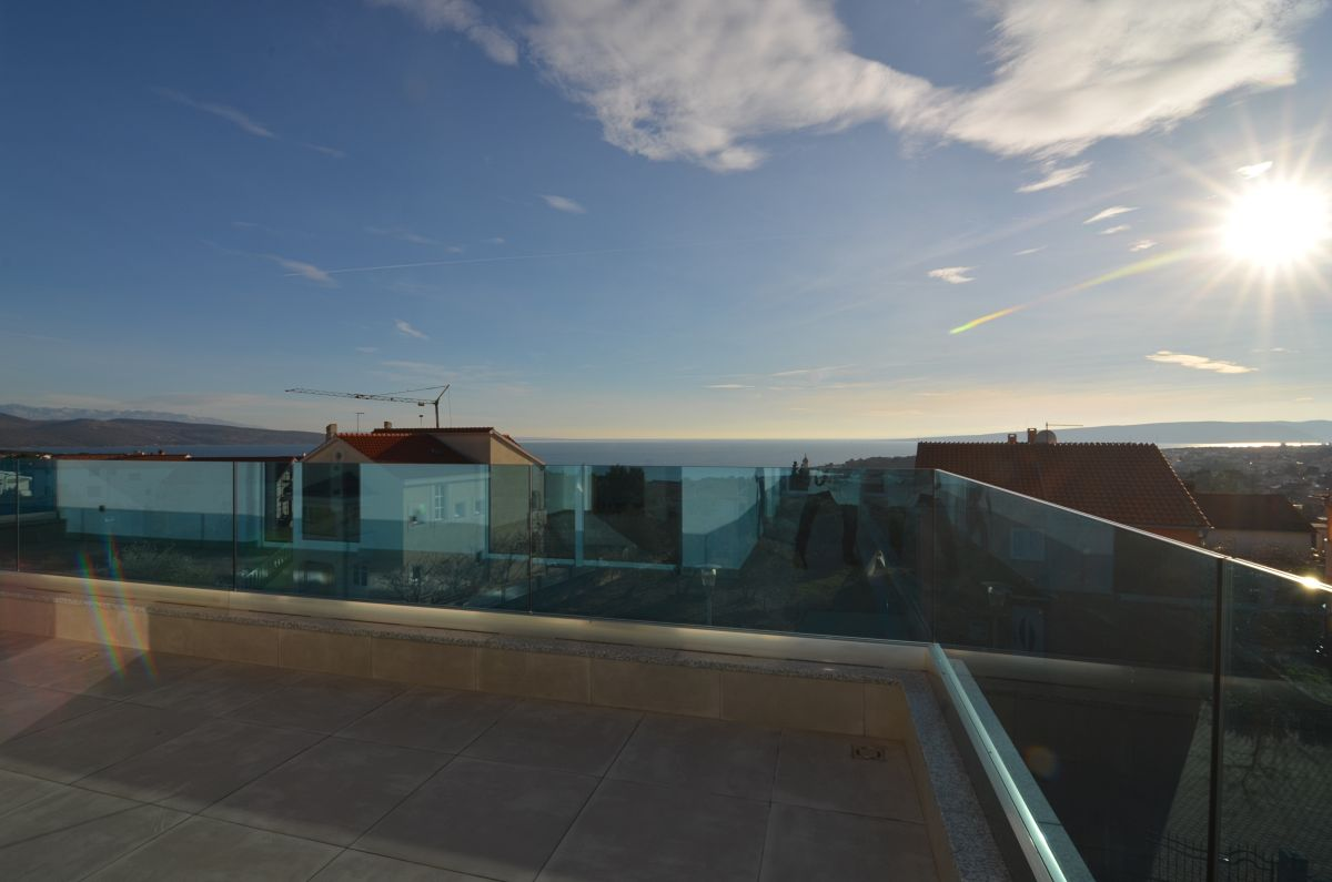 Apartments - City of Krk - EXCLUSIVE PENTHOUSE WITH PANORAMIC SEA VIEW!