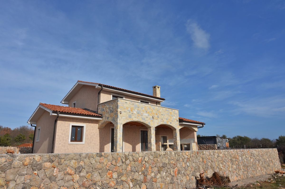 Nouvelles maisons en pierre - Ville de Krk - NEW STONE HOUSE WITH POOL AND PANORAMIC SEA VIEW!