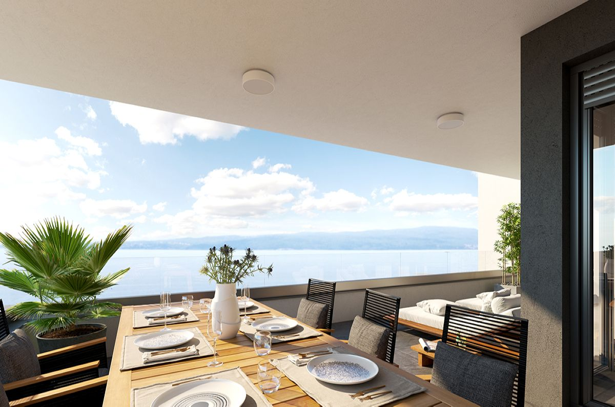 Appartements - Malinska - EXCLUSIVE APARTMENT WITH PANORAMIC SEA VIEW!