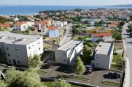 Appartements - Ville de Krk - EXCLUSIVE APARTMENT WITH GARDEN AND SEA VIEW!