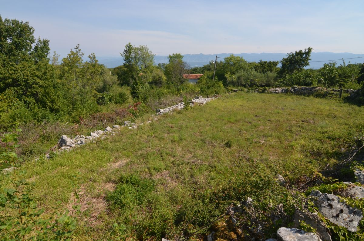 Construction land - Dobrinj - URBANIZED LAND WITH SEA VIEW, IN IDILIC LOCATION!